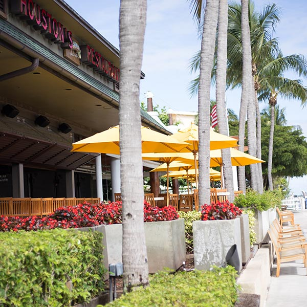patio dining in Pompano Beach